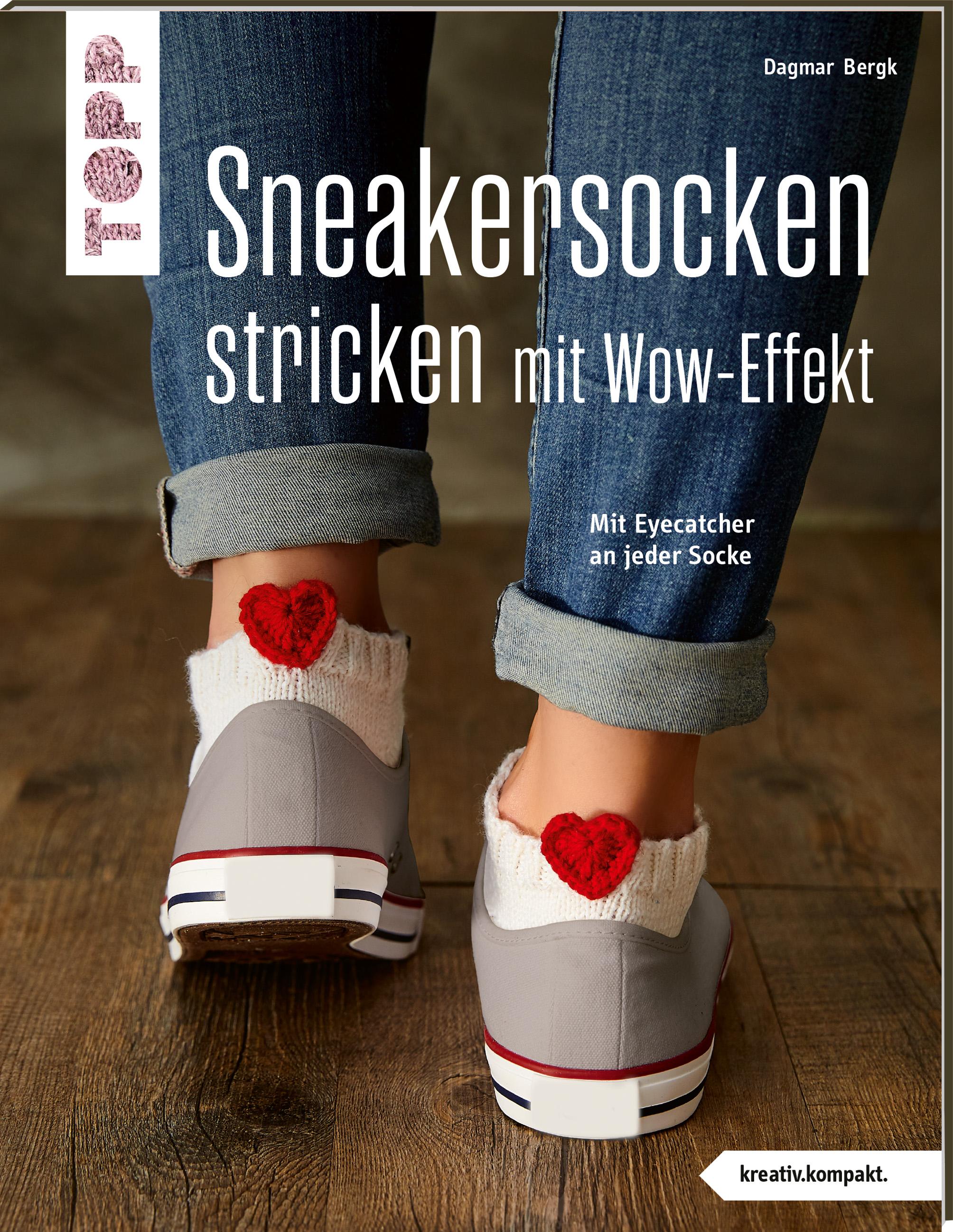 Sneakersocken stricken mit Wow-Effekt (Dagmar Bergk)