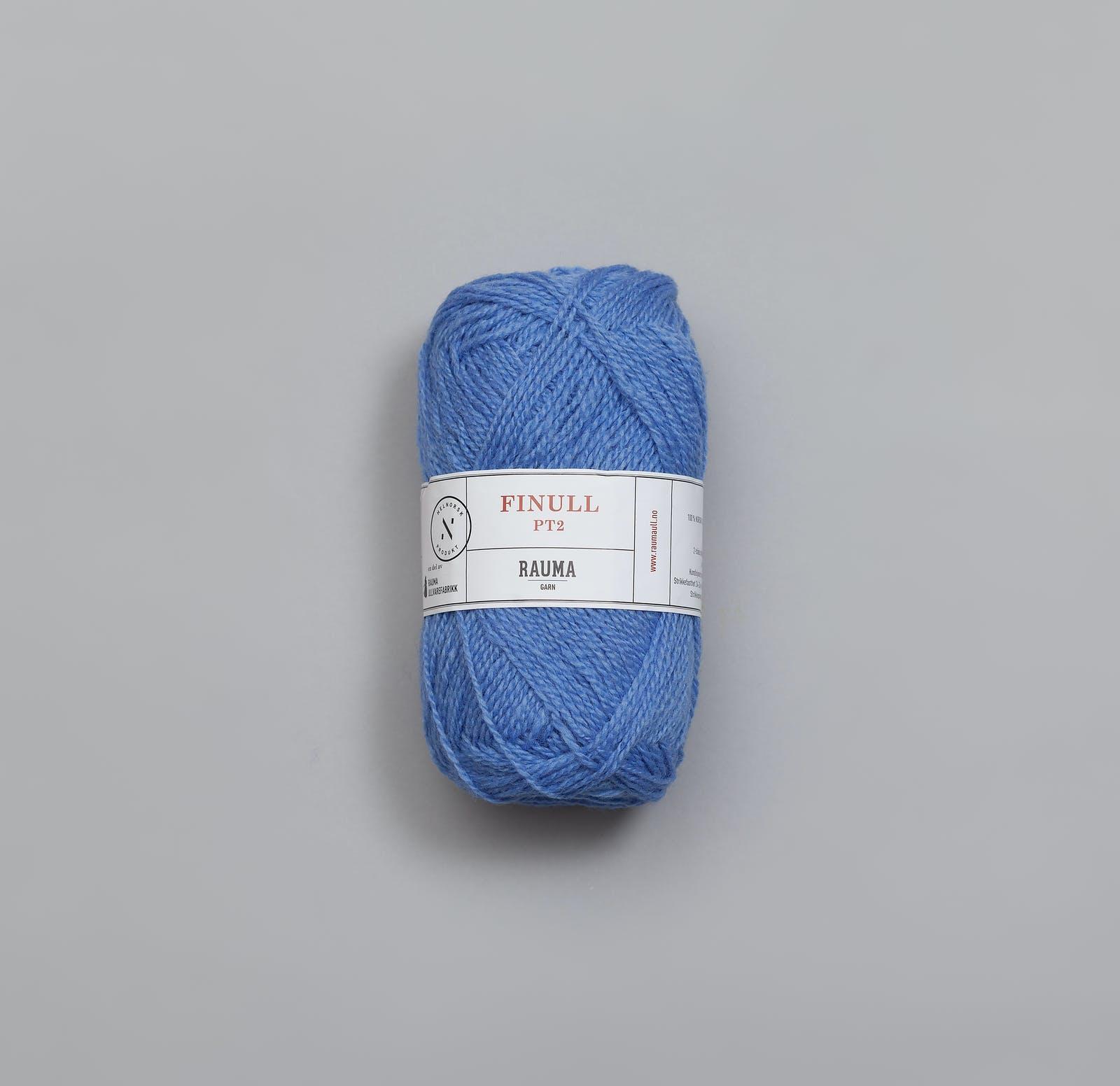 Finullgarn Pt2 - 4385 Helles Jeansblau / Lys jeansblå