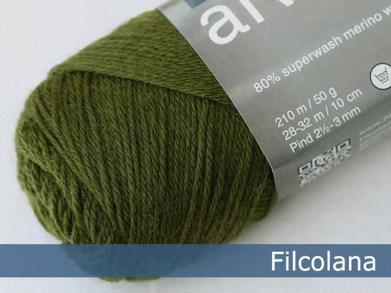 Arwetta classic - 148 Deep Olive (Sockenwolle)