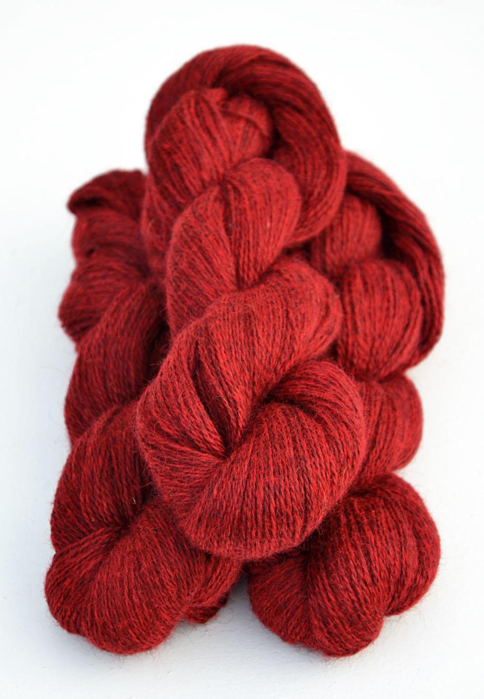 Ullcentrum 6-2-1103 Rot auf dunklem Gotland Red on medium grey Röd på mellangrå
